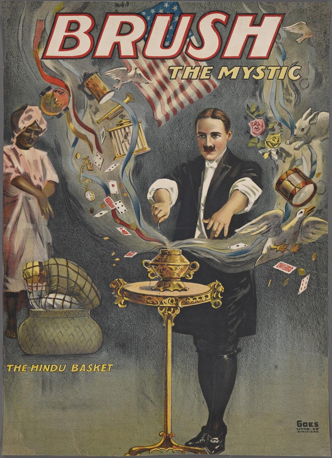 Brush the mystic: the Hindu basket