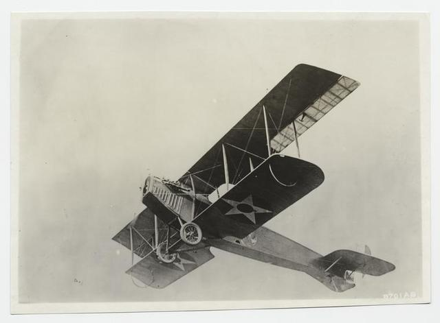 Curtiss JN - a training plane.