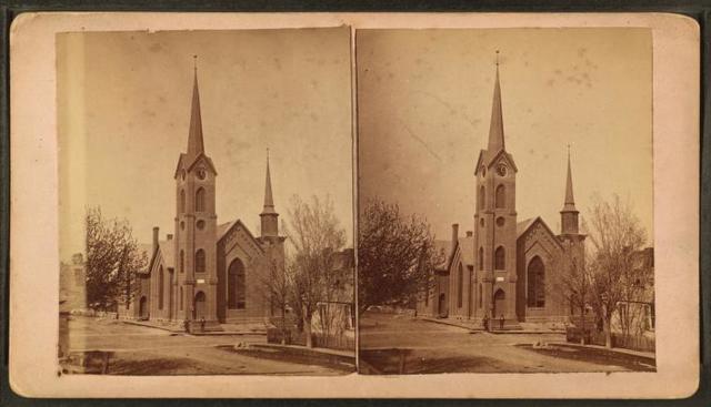 [View of a Church.]