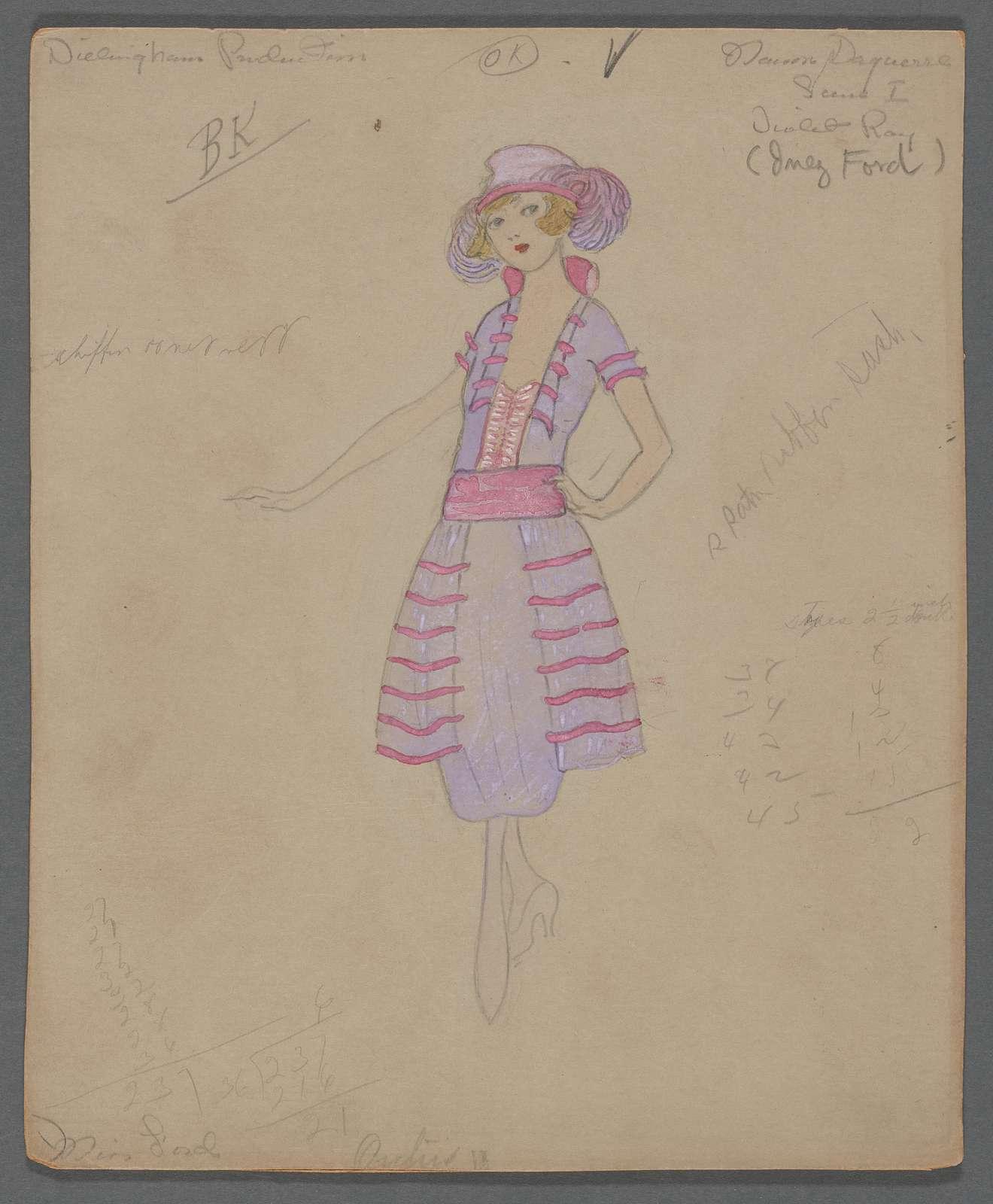 Maison Daguerre-Scene I-Violet Ray (Inez Ford)