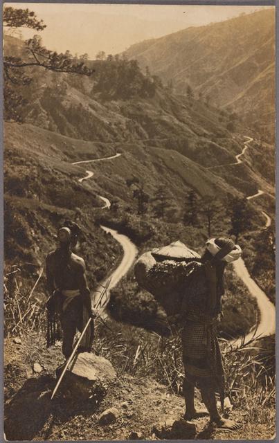 Scene in Mountain Province, Luzon Island.