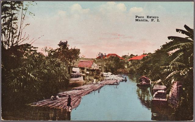 Paco Estero.  Manila, P.I.