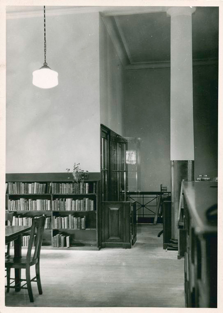 W.P.A. Department of Libraries: Chatham Square Library Branch