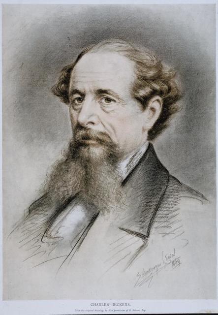 Poet Charles Dickens