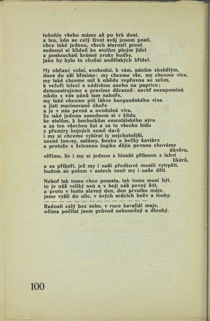 Slavný den (continued)