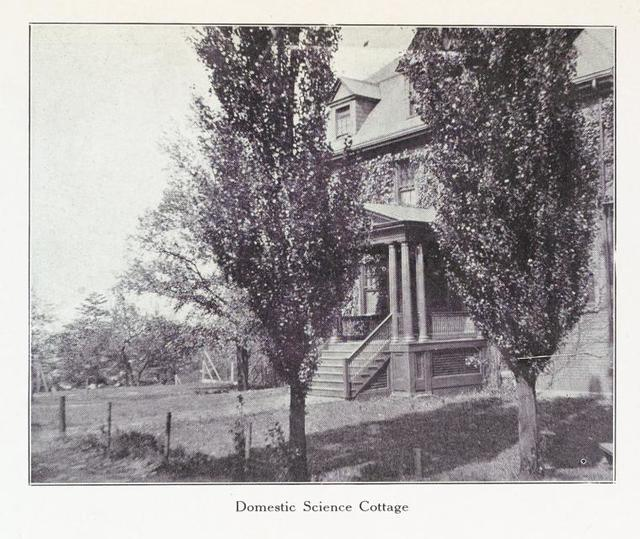 Domestic science cottage