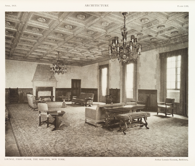 The Shelton, New York: Lounge, First Floor