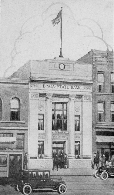 Binga State Bank founded by Jesse Binga, 1908, as a private bank.