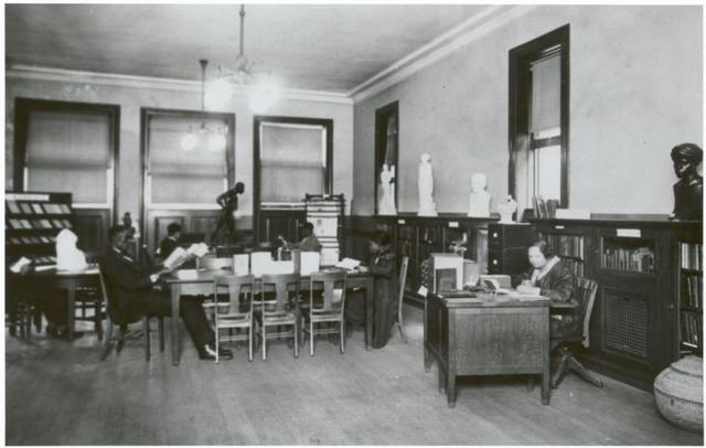 135th Street Branch, Reference Room