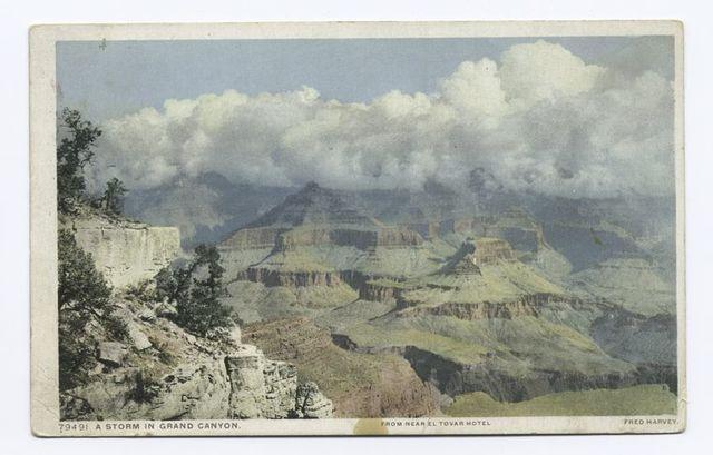 A Storm in Grand Canyon (Horizontal), Grand Canyon, Ariz.