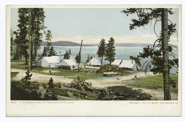 A Summer Camp, Yellowstone Lake