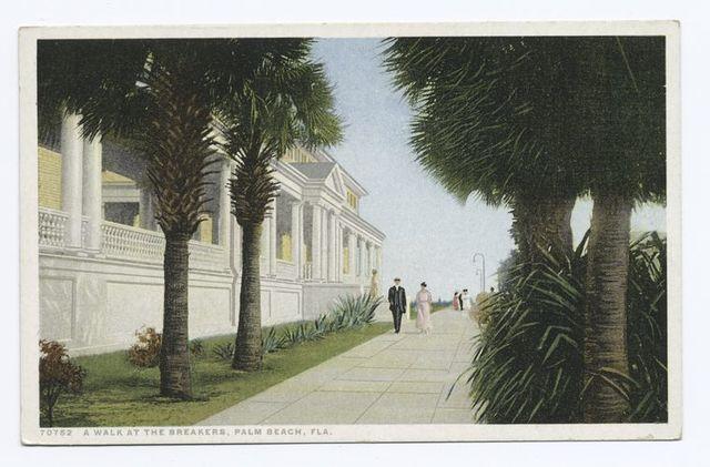 A Walk at the Breakers, Palm Beach, Fla.