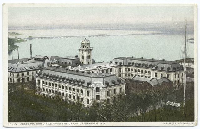 Academic Building, Naval Academy, Annapolis, Md.