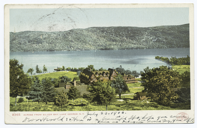 Across from Silver Bay, Lake George, N. Y.