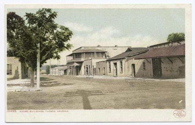 Adobe Buildings, Tuscon, Ariz.