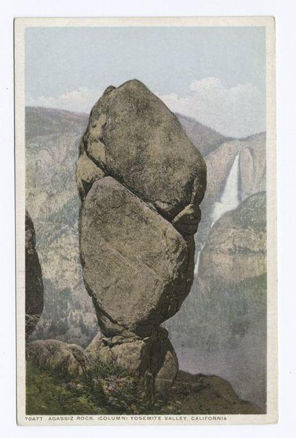 Agassiz Rock Column, Yosemite, Calif.