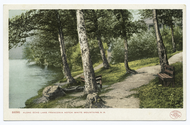 Along Echo Lake, Franconia Notch, N. H.