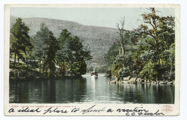 Among the Harbor Islands, Lake George, N. Y.