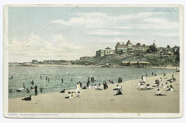 Atlantic Hotel, Nantasket, Mass.