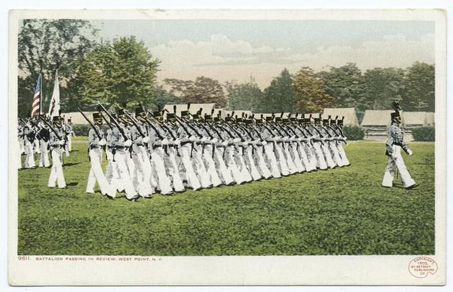 Battalion Passing in Review, West Point, N. Y.