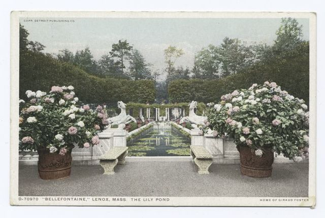 Bellefontaine, The Lily Pond, Lenox, Mass.