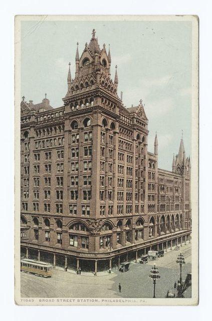 Broad Street Station, Philadelphia., Pa.
