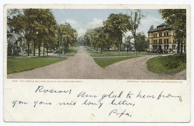 Campus, Williams College, Williamstown, Mass.