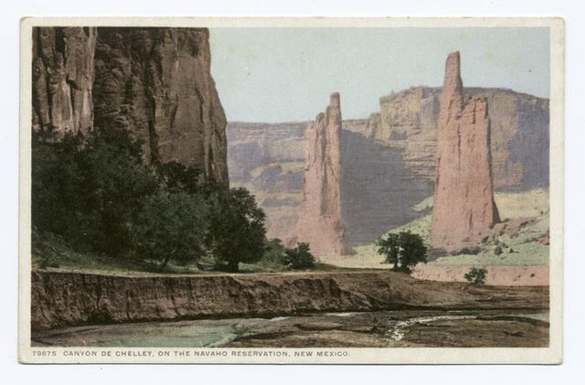 Canyon de Chelly, on the Navaho Reservation, New Mexico