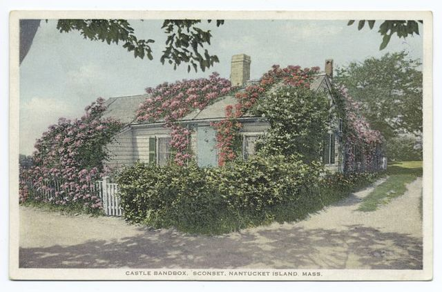 Castle Bandbox, 'Sconset, Nantucket Island, Mass.
