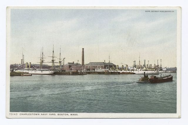 Charlestown Navy Yard, Boston, Mass.