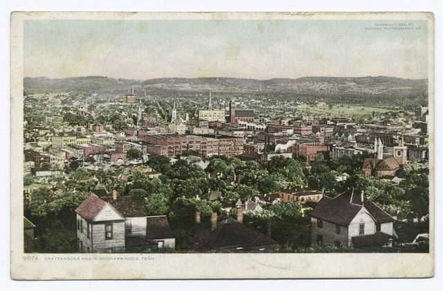 Chattanooga and Missionary Ridge, Tennessee