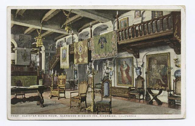 Cloister Music Room, Glenwood Mission Inn, Riverside, Calif.