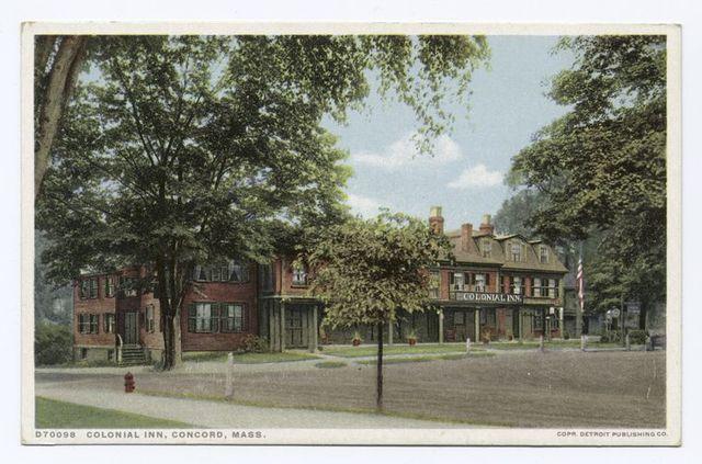 Colonial Inn, Concord, Mass.
