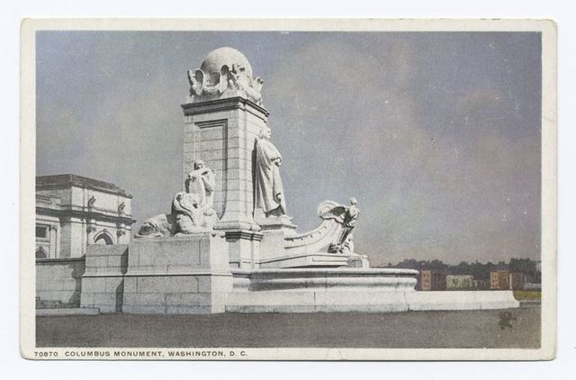Columbus Monument, Washington, D. C.