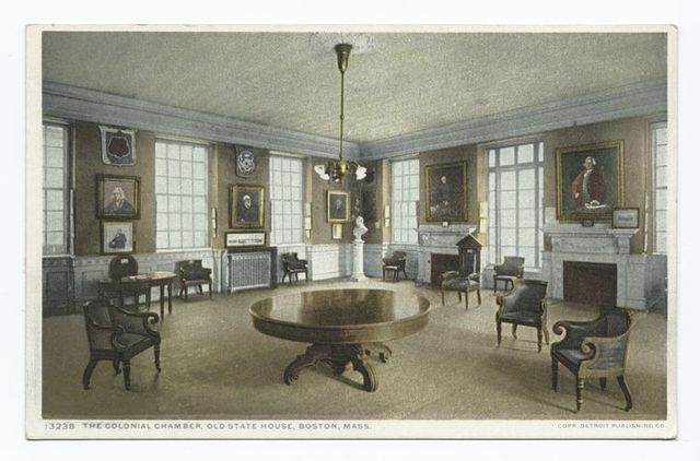 Council Chamber, Old State House, Boston, Mass.