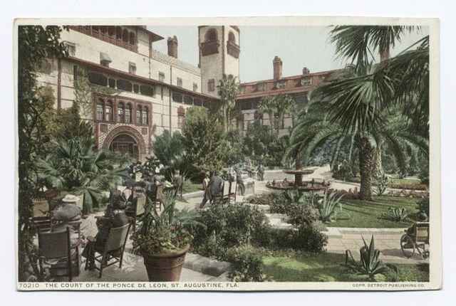 Court of Ponce De Leon, St. Augustine, Fla.