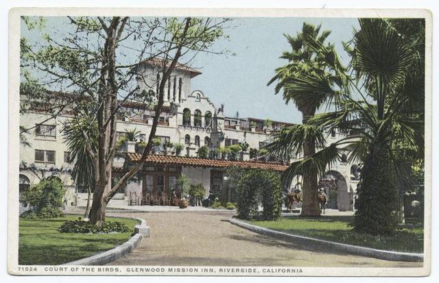 Court of the Birds, Glenwood Mission Inn, Riverside, Calif.