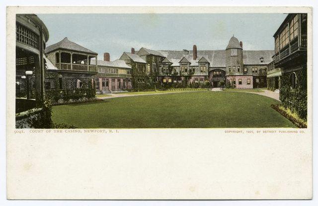 Court of the Casino, Newport, R. I.