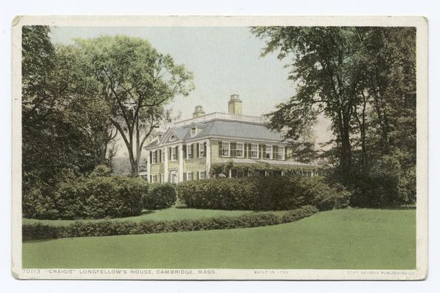 Craigie, Longfellow's House, Cambridge, Mass.