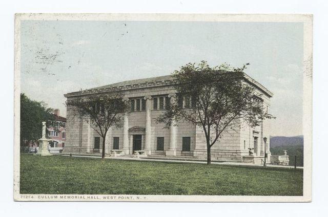 Cullum Memorial Hall, West Point, N. Y.