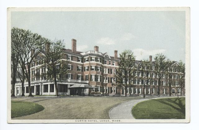 Curtis Hotel, Lenox, Mass.