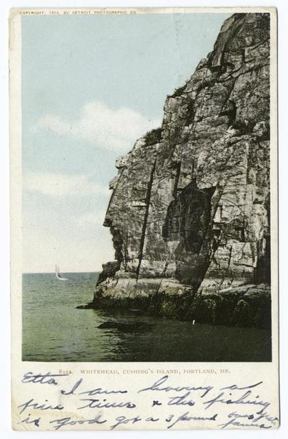 Cushing's Island, White Head, Portland, Me.