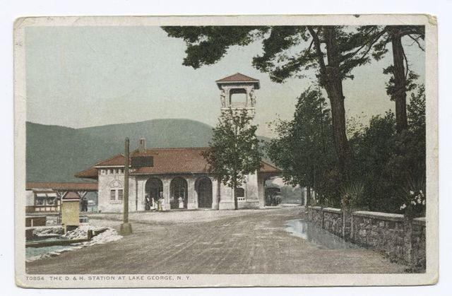 D and H Station, Lake George, N. Y.