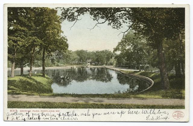 Deering Park, Portland, Me.