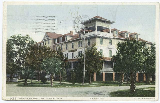 Des Plano Hotel, Daytona, Fla.