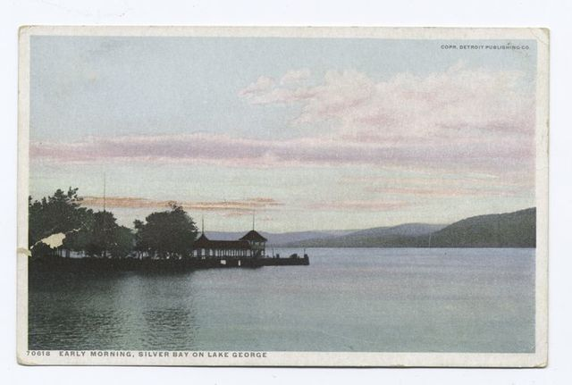 Early Morning, Silver Bay, Lake George, N. Y.