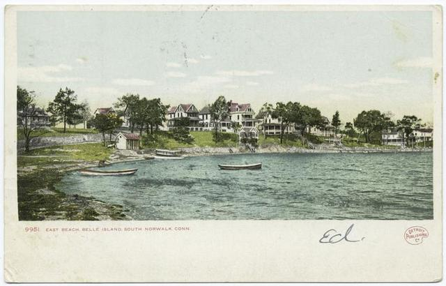 East Beach, Belle Island, South Norwalk, Conn.