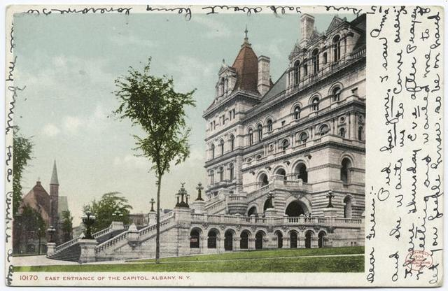 East Entrance of the Capitol, Albany, N. Y.
