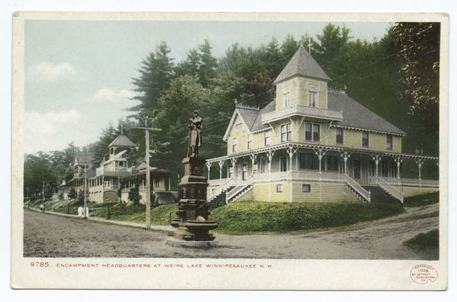 Encampment Headquarters, Weirs, Lake Winnipesaukee, N. H.