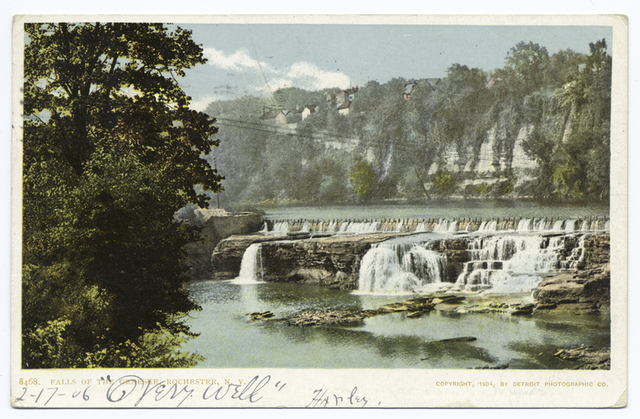 Falls of the Genesee, Rochester, N. Y.